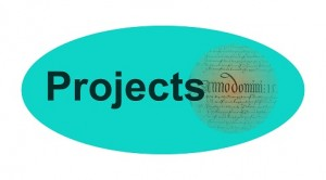 Projects button sized