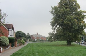 The common land in Barnards Green
