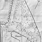 Guarlford graveyard map