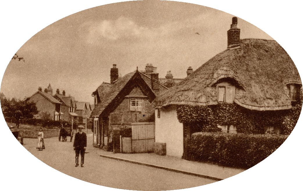 View of Court Road Malvern in about 1910